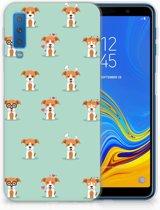 TPU Siliconen Backcase Samsung A7 (2018) Pups