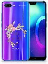 Huawei Honor 10 Uniek TPU Hoesje Boho Text