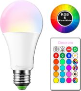 Licht | Lamp | LED lamp | Bestuurbaar met afstandsbediening | E27 | Warm licht | LED bulb | SmartLED