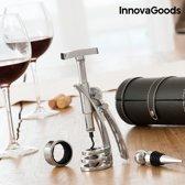 InnovaGoods Screwpull Wijnaccessoires Set met Kurkentrekker (4 Stuks)