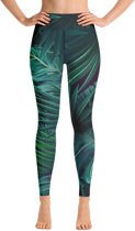 Relax - Dames Leggings - Yoga & Fitness - Hoge Taille - Sneldrogend - Into the Forest