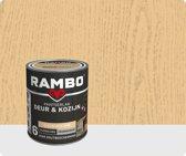 Rambo Deur & Kozijn pantser lak zijdeglans transparant kleurloos 0000 750 ml