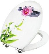 Cornat Water Lilly decor toiletbril