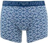 Emporio Armani - Heren Boxershort Blauw - L