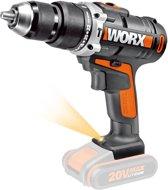 Worx WX372.9 20V accu-slagboorsschroevendraaier