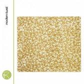 Placemat - Modern Twist - Twine - gold