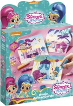 Shimmer and Shine Glittercards
