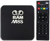 Plug & play RAM M8S TV box android mediaspeler met fully loaded KODI
