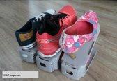 Schoen rek - shoe rack - Schoenen houders - Opruimen van schoenen - 20 stuks DEAL - Fris Grijs