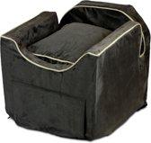 Snoozer Lookout - Autostoel -Autozitje voor honden - Small 48x38x43 cm - Dark Chocolate - Met lade