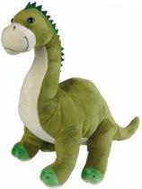 Dinosaurus Brontosaurus knuffeldiertje 30 cm