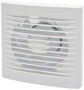 SENCYS ventilator Basic met hor voor muur of plafond Ø125mm wit