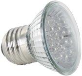 Gele Led Lamp - E27 - 240Vac - 18 Leds