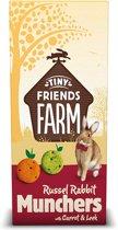 Tiny friends farm russel munchers carrot en leek - 4 ST à 120 GR