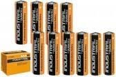 100 Stuks - Duracell Industrial LR03 AAA alkaline batterijen