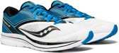 Saucony Kinvara 9  Hardloopschoenen - Maat 43 - Mannen - blauw/wit/zwart