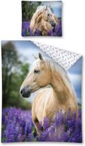 Paard eenpersoons dekbedovertrek 140 x 200 cm