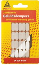 GELUIDDEMPERS / BUFFERS BRUIN 20 ST.