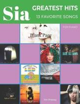 Sia Greatest Hits 13 Favorite Songs for Piano