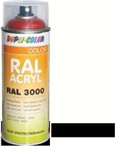 Motip Dupli-Color Spuitbus Acryl Mat - RAL 9010 Zuiver Wit