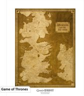 GAME OF THRONES - Collector Artprint Map (50x40)