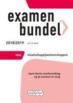 Examenbundel vwo Maatschappijwetenschappen 2018/2019