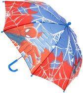 Marvel Paraplu Spider-man 70 Cm Blauw/rood