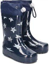 Playshoes regenlaarzen sterren marine