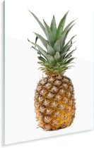 Rechtopstaande ananas Plexiglas 20x30 cm - klein - Foto print op Glas (Plexiglas wanddecoratie)