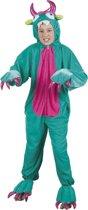 Kinderkostuum Monster Pluche - Maat 140