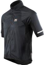X-Bionic Rainsphere Jersey korte mouwen Heren zwart Maat XL