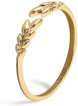 FAEMD Leaves Ring - Goud 8