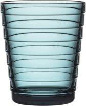 Iittala Aino Aalto Glas - 22cl - Zeeblauw - 2 stuks