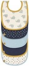 Lässig Slabbetje Little Water 5 Stuks Whale