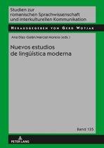 Nuevos estudios de lingueística moderna
