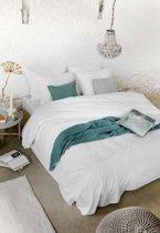 Walra New Day - Dekbedovertrek - Tweepersoons - 200x200/220 cm + 2 kussenslopen 60x70 cm - White