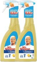 Mr. Proper Spray 2 x 700 ml - Multi Clean Zomer Citroen
