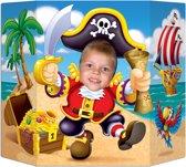 Gezicht foto poster piraat - Feestdecoratievoorwerp