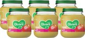 Olvarit 4+ mnd fruithapje- appel - 6x125g