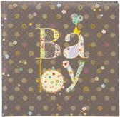 GOLDBUCH GOL-24447 babyalbum ROMANTIC fotoalbum 25x25cm zonder tekst