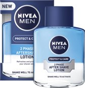 3x Nivea Aftershave Men – Lotion Protect & Care - 3x 100ml
