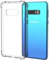Transparante TPU Bescherm-Skin Hoes voor Samsung Galaxy S10e