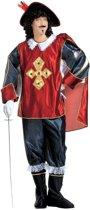 Musketier Kostuum   Musketier De Court Kostuum Man   Medium   Carnaval kostuum   Verkleedkleding