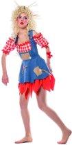 Monster & Griezel Kostuum | Vogelverschrikker Boerenland | Vrouw | Maat 38 | Halloween | Verkleedkleding