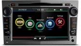 Opel Zafira B cd30 cd70 DAB+ look autoradio met navigatie usb aux touchscreen Zilver
