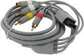 Dolphix Composiet en S-VHS kabel voor Nintendo Wii - 1,8 meter