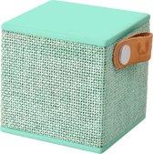 Fresh 'n Rebel Rockbox Cube Fabriq - Draadloze Bluetooth Speaker - Mintgroen