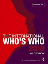 The International Who's Who 2018