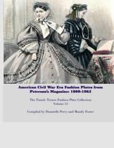 Amercian Civil War Fashion Plates Peterson's Magazine 1860-1865