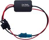 FAKRA radio signaal versterker met eigen 12V voeding / HaverCo